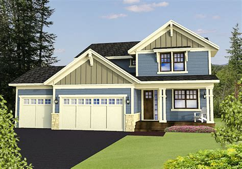 cost conscious craftsman rk architectural designs house plans