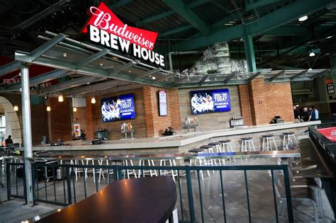 budweiser brew house deck menu every minute park eatery you should about