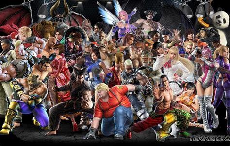 All Anime Characters Wallpaper - обои аниме герои tekken картинки на рабочий стол раздел