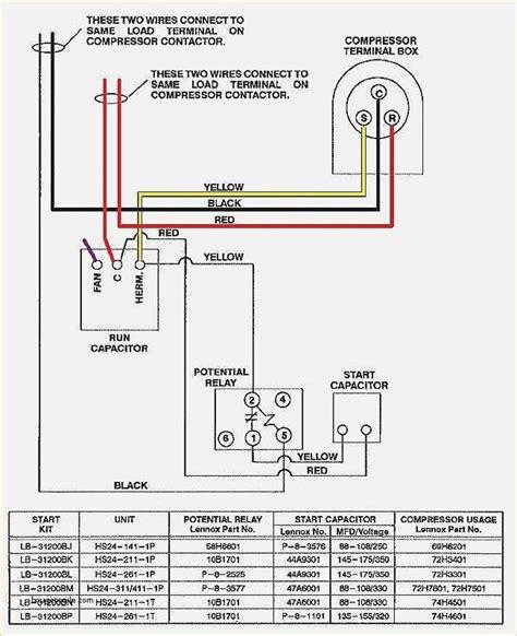 wiring diagram for ac unit elegant goodman condenser wiring hvac in 2019 the unit