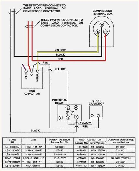 Wiring Diagram For Unit Elegant Goodman Condenser