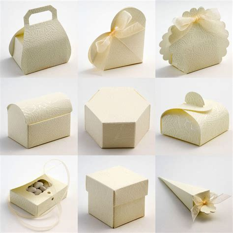 best quality diy soft embossed wedding favour favor boxes ebay