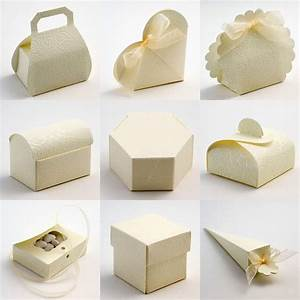 best quality diy soft cream embossed rose wedding favour With favor boxes for wedding