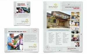 real estate agent realtor flyer ad template design With real estate advertisement template