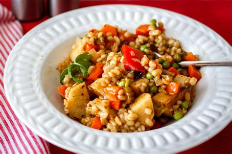 Barley Stew With Root Vegetables Recipe  Greener Ideal