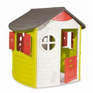 Maison Pour Enfant : maison plastique les cabanes de jardin abri de jardin et tobbogan ~ Teatrodelosmanantiales.com Idées de Décoration