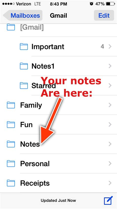 iphone notes disappeared how can i retrieve the notes that disappeared from my
