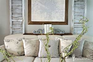 Faux Shutter and Rustic French Touches