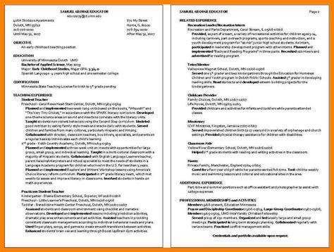 daycare resume objective resume general objective exles