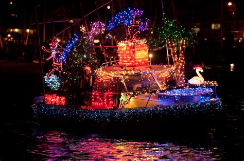 holiday lights sights boat parade fishermans