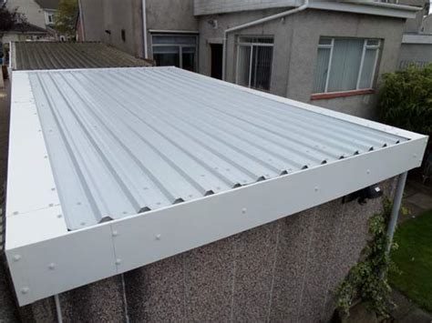 garage roof fascias refurbished garage   roof