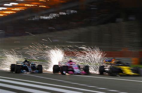vettel holds  bottas  bahrain win autocar