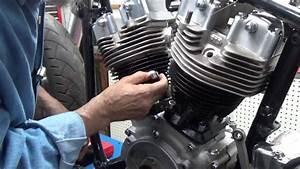 Install Harley Davidson Shovelhead Cylinder Heads  Part 2