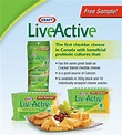 Free Samples Canada: Kraft LiveActive Cheese from Save.ca ...