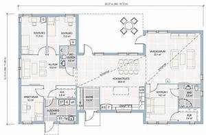 plan maison ecologique avec ossature en bois plans maisons With marvelous plan maison en l 100m2 2 maison plain pied en ossture bois ecologique