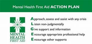 ALGEE action plan for providing mental health first aid ...