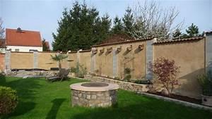 Gartengestaltung Toskana Stil : gartenmauer ~ Articles-book.com Haus und Dekorationen
