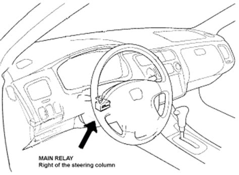 94 Honda Civic Fuel Pump Relay Location  Get Free Image
