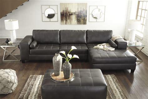 nokomis  piece sectional living room set  charcoal