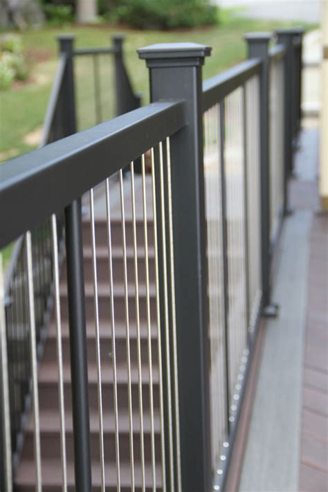 Inspiration Gallery   Iron Railing   Aluminum & Glass Railing