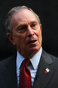 Mayor Bloomberg Discusses The Financial Situation Outside ...