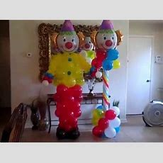 Circus Themed Birthday Party Balloons Youtube