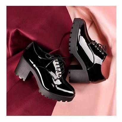 Sapato Oxford Salto Preto Vizzano Modelo Verniz
