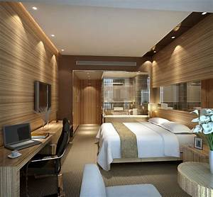 image detail for modern hotel room interior 3d scene With interior decoration hotel rooms