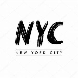 New York Schriftzug : new york city schriftzug new york city stockvektor igor vkv 121494836 ~ Frokenaadalensverden.com Haus und Dekorationen