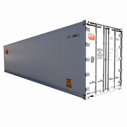 Refrigerated 41ft Scf Container Containers Pallets Reefer