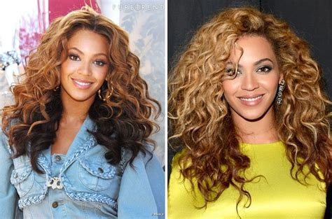 Beyonce Hairstyle Evolution In Pictures