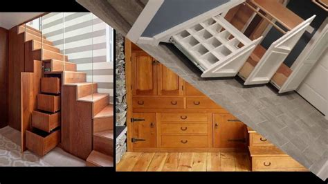 19 awesome stairs storage ideas bookshelf closet