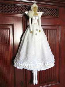 Stoff Vintage Shabby : xxl engel spitze wei stoff shabby vintage nostalgie nach ma tilda vorlage tilda dolls ~ Orissabook.com Haus und Dekorationen