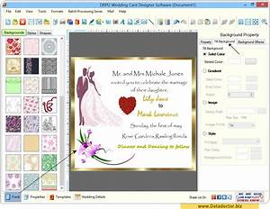 Wedding card designing software design beautiful for Wedding invitation graphic design software