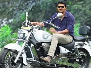 The gallery for --> Prabhas In Mirchi Blue Shirt