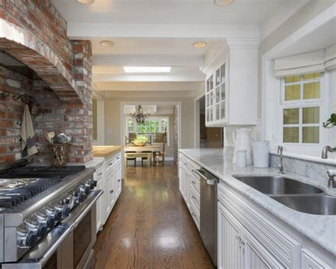 alley kitchen design ideas remodel pictures houzz