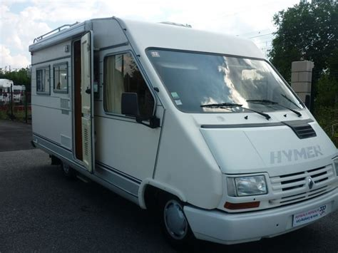 hymer   camping car integral occasion