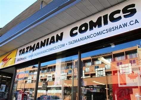 Tazmanian Comics Vancouver Business Story