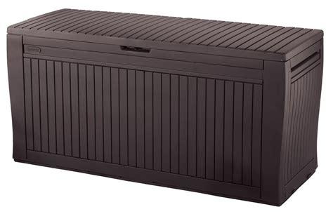 keter comfy storage box plastic sheds australia