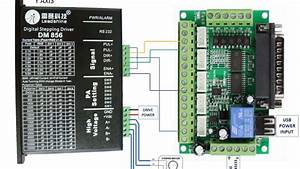 5 Axis Breakout Board Driver Wiring Example