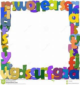 frame letters stock illustration image of paint color With letter a frame