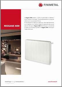 Radiateur Finimetal Reggane : radiateur acier finimetal reggane 3000 h 750 habill ~ Premium-room.com Idées de Décoration