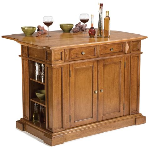 home styles kitchen island with breakfast bar home styles cottage oak kitchen island with breakfast bar 9240