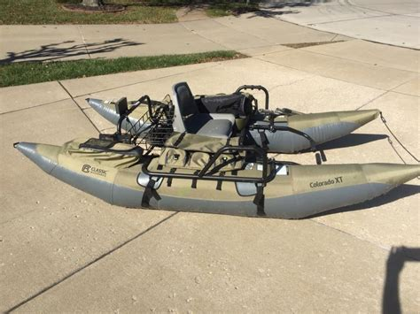 Classic Accessories Colorado Xt Inflatable Pontoon Boat by Colorado Xt Inflatable Pontoon For Sale Buy Sell