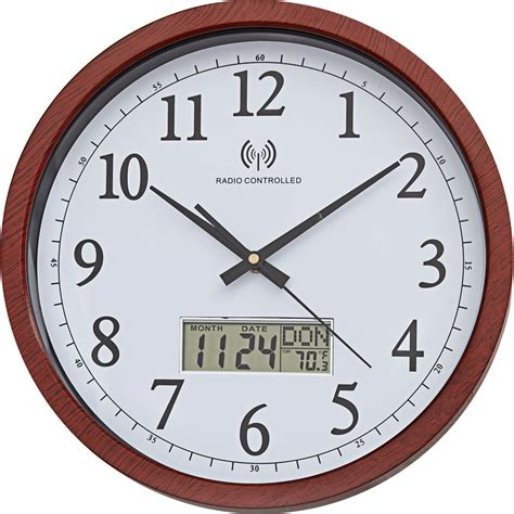 horloge murale radio pilot 201 e aspect bois achetez ce produit horloge murale radio pilot 233 e