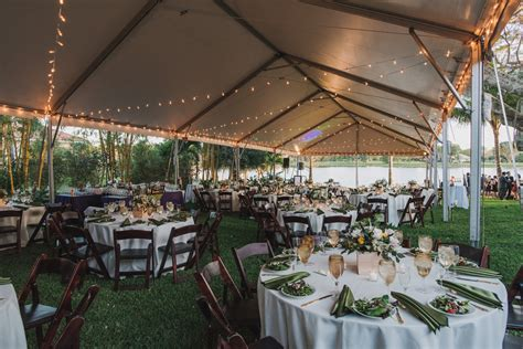 Wedding Reception In Backyard - backyard wedding the majestic vision