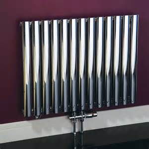 louise chrome designer radiator uk bathrooms - Designer Radiators
