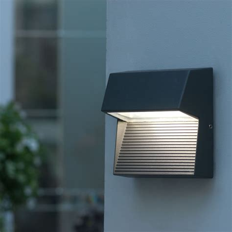 exterior led lights for homes led outdoor wall lights enhance the architectural