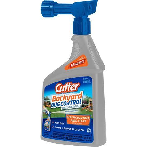 Backyard Spray by Cutter 32 Fl Oz Concentrate Backyard Bug Spray