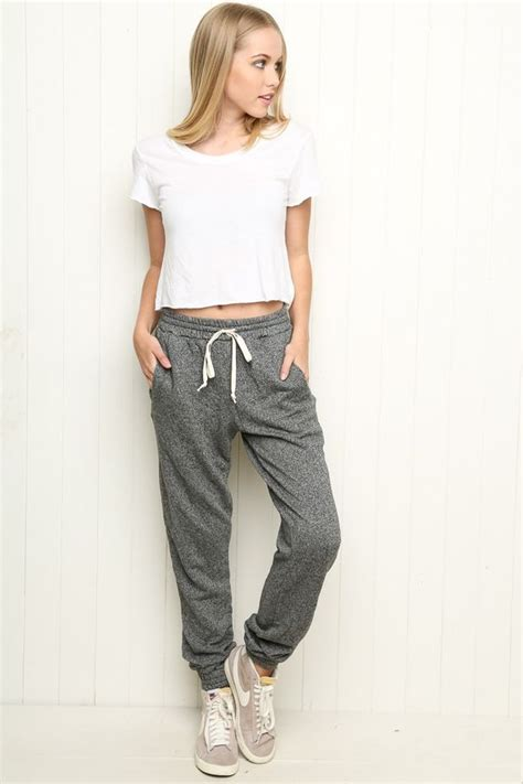Best 25+ Cute sweatpants outfit ideas on Pinterest | How to wear sweatpants Nike sweatpants and ...